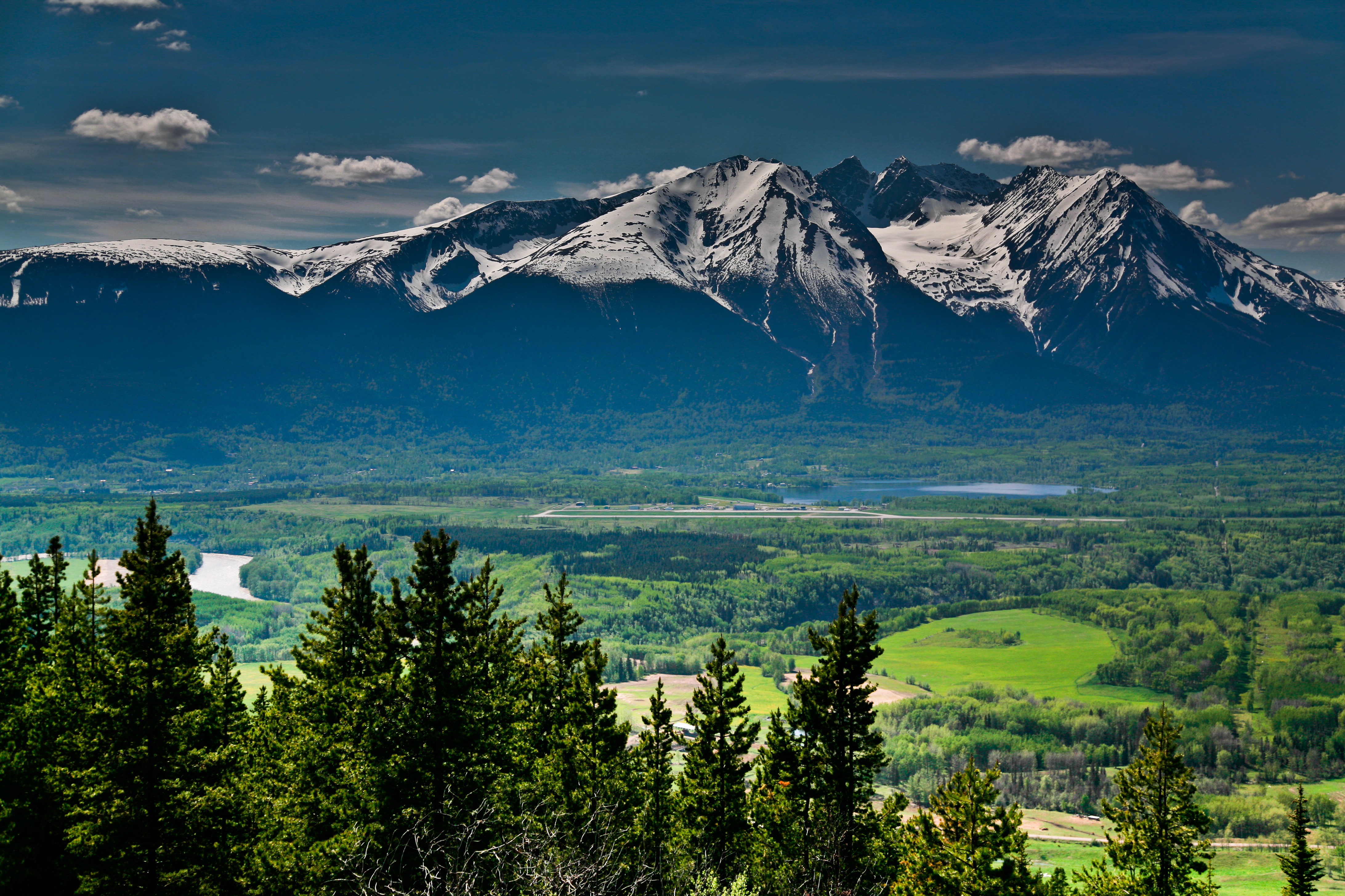 The View from Malkow Lookout near Smithers. Photo: Curtis Cunningham