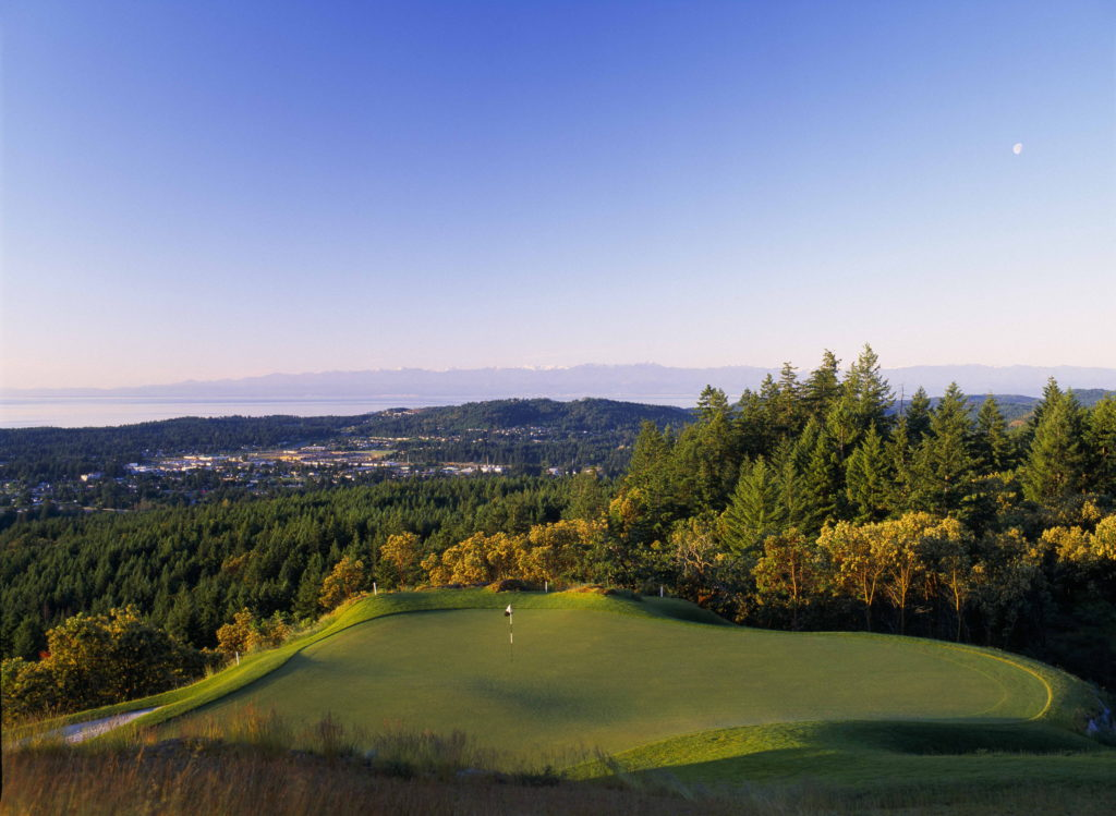 Bear Mountain Resort is the only place in Canada that offers 36 holes of Nicklaus-designed golf.