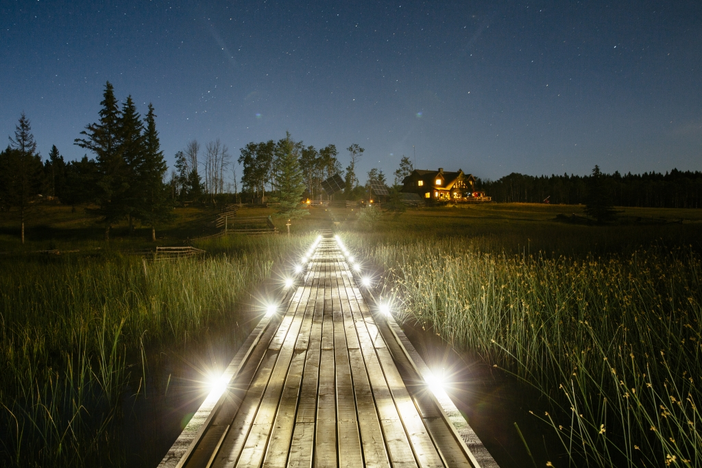 Siwash Lake Wilderness Resort near 70 Mile House in BC's Cariboo country.