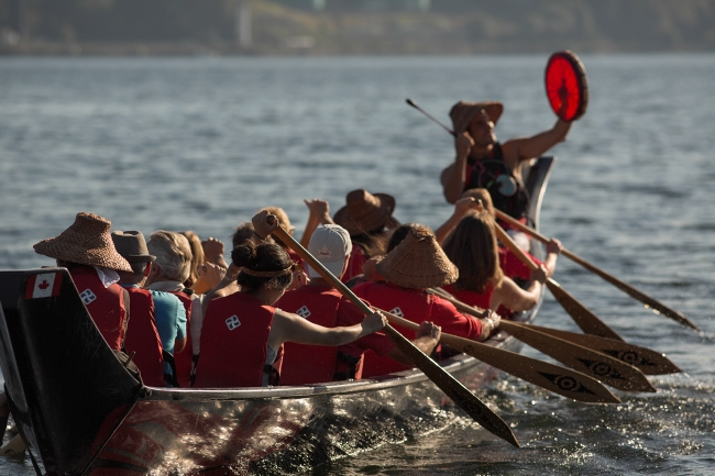 Takaya Tours First Nations Canoe Adventures on Indian Arm in North Vancouver.