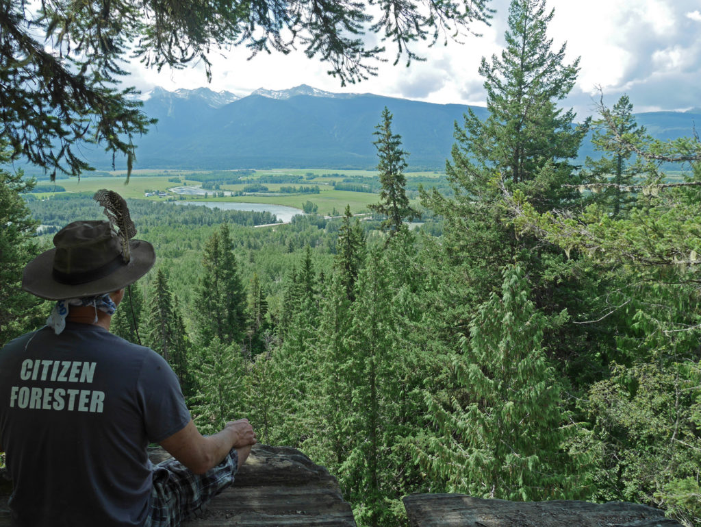 Overlooking the Fraser River headwaters.