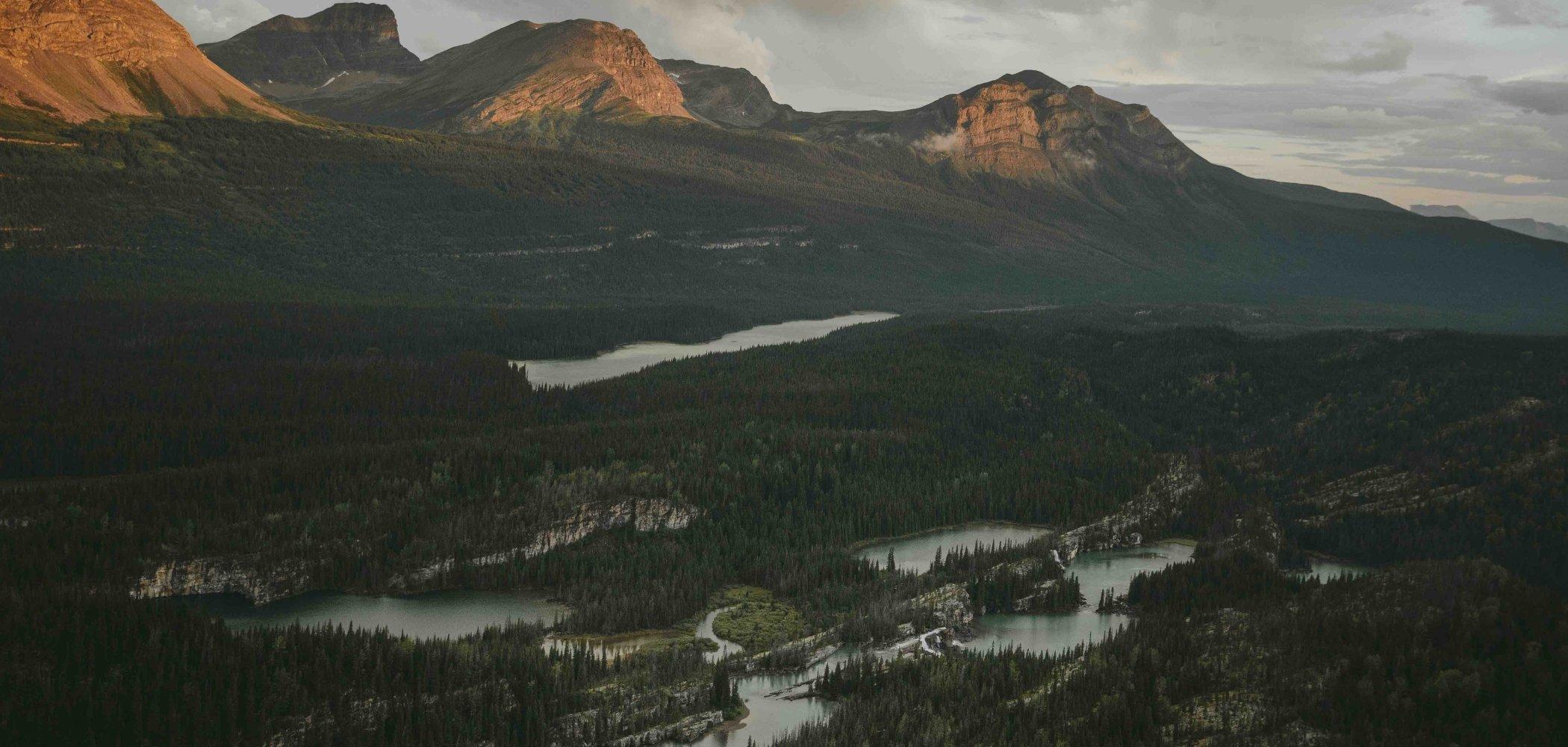 Northern Rockies & Alaska Highway in BC Canada