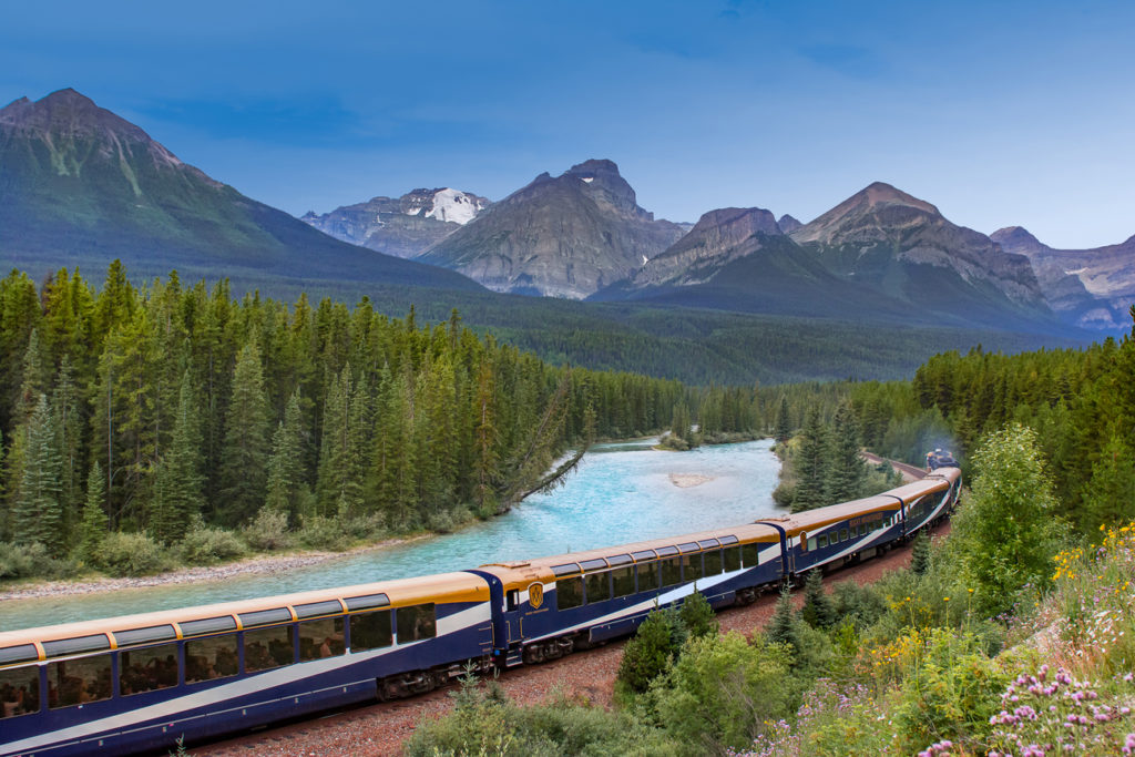 Exploring the Rockies on the Rocky Mountaineer.