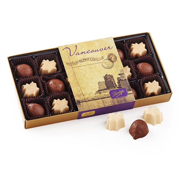 The Canada Collection from Purdys Chocolatier.
