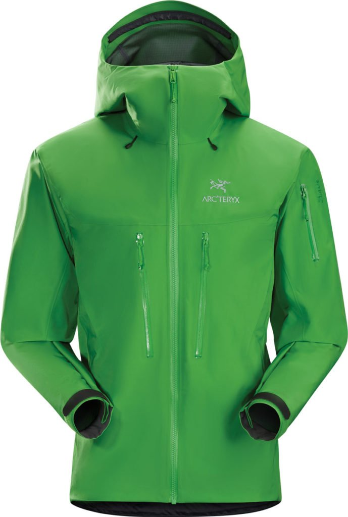The Alpha SV jacket from Arc'teryx boasts micro-seam technology.