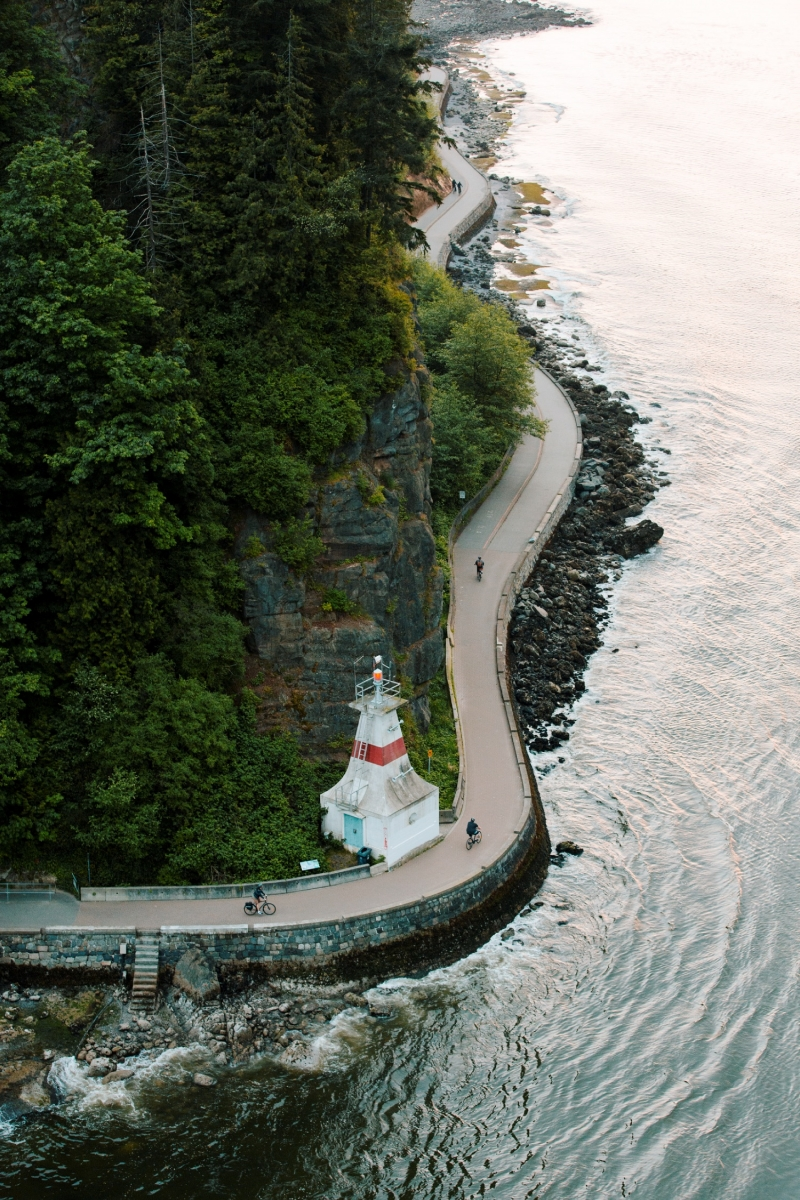The Seawall along Vancouver's Stanley Park