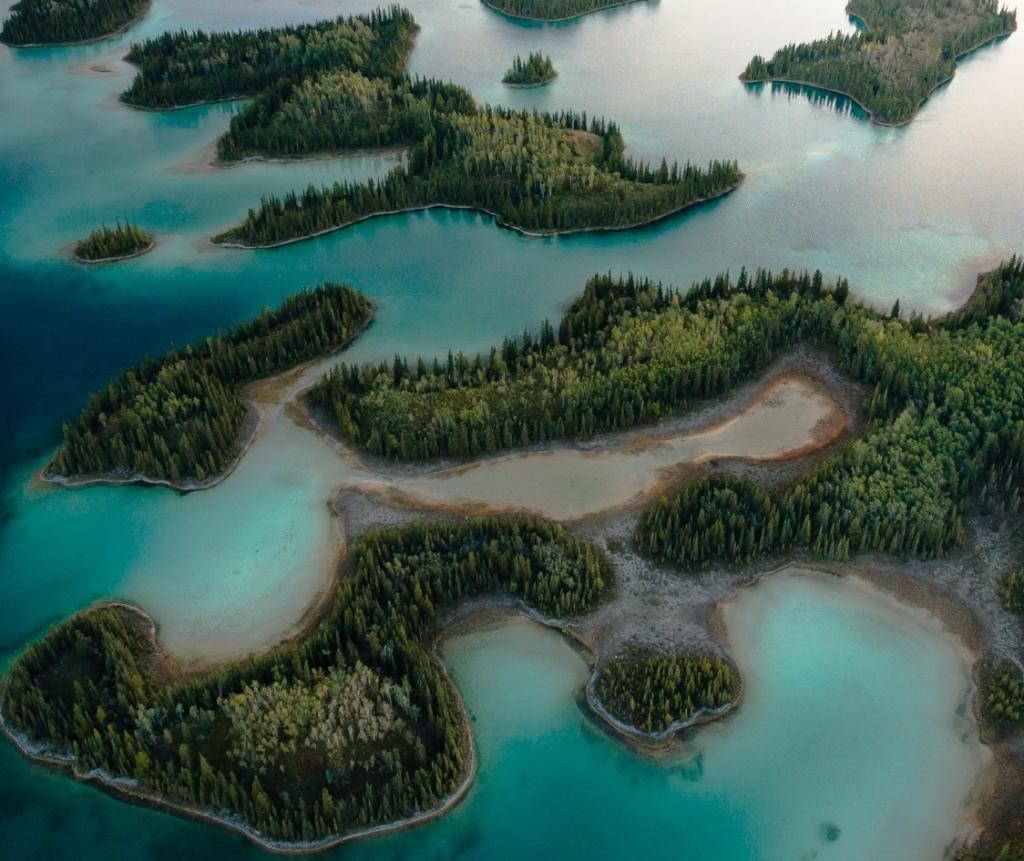 Boya Lake in Northern BC