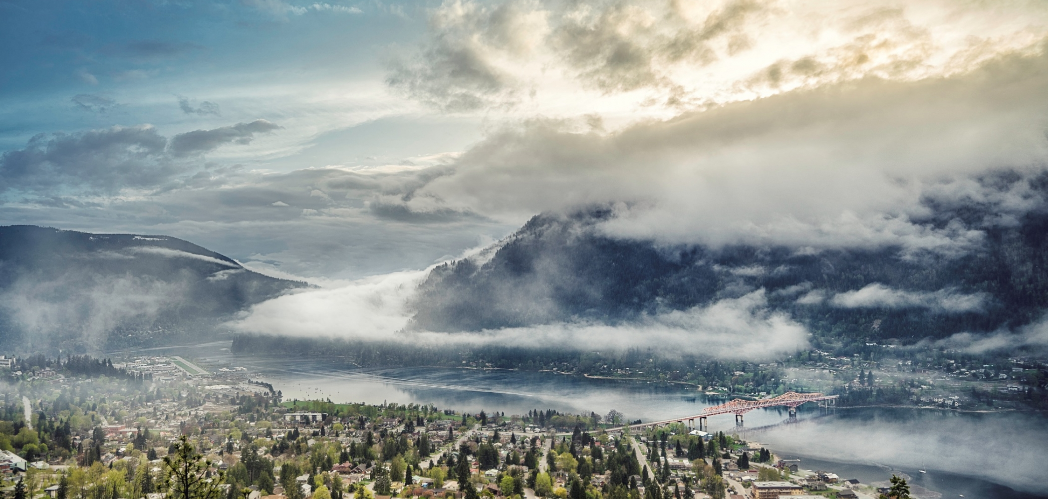 View of Nelson and Kootenay Lake | Ryan Dury