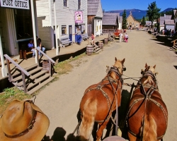 Cariboo Wagon Road and the Gold Rush Trail