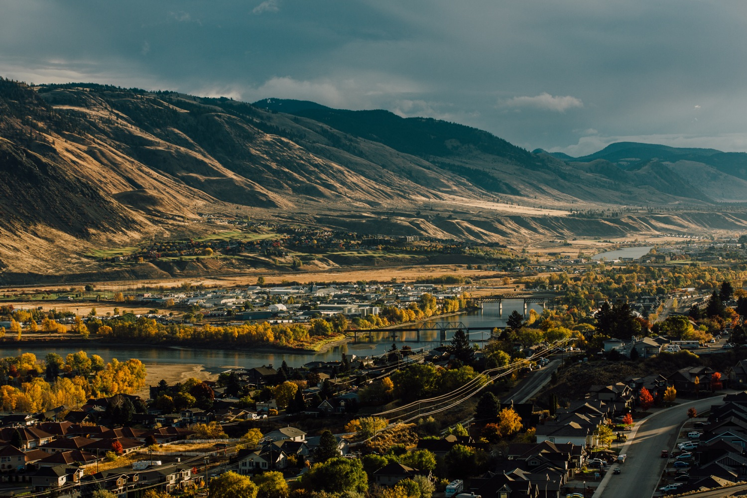 how to travel from vancouver to kamloops