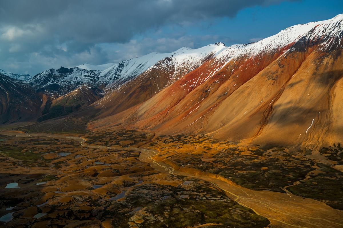 The Spectrum Range in Mount Edziza Provincial Park. Photo: Northern BC Tourism/Andrew Strain