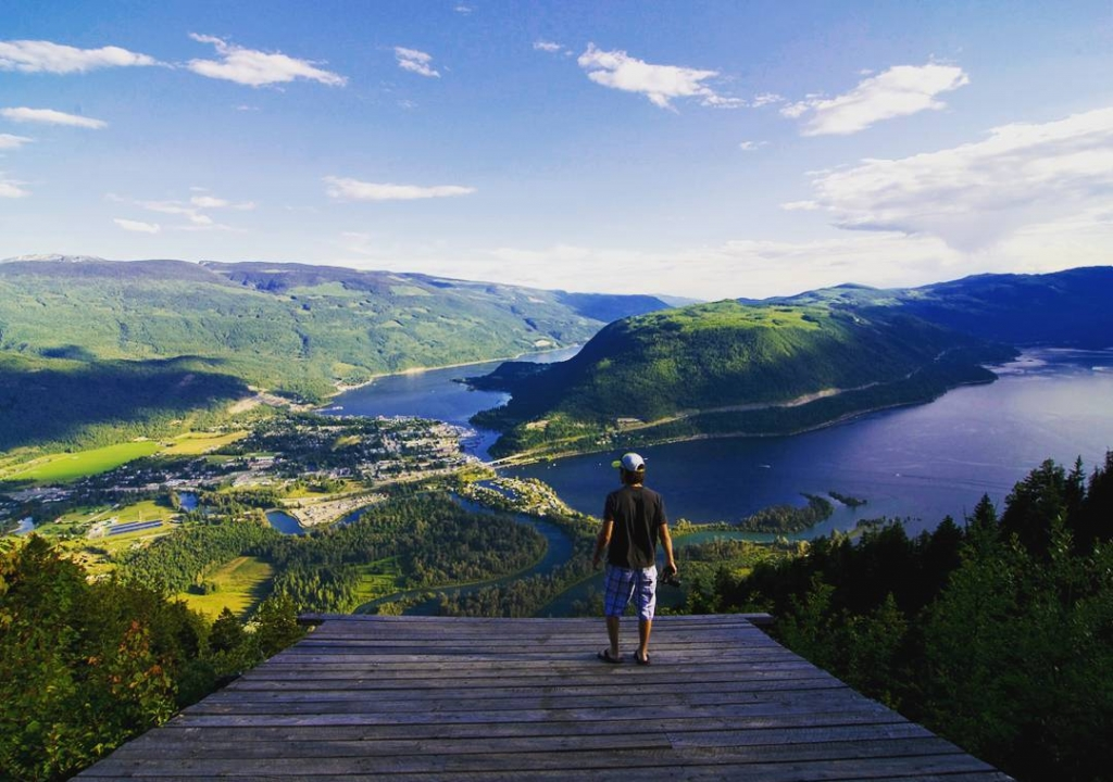 View from the Sicamous Lookout