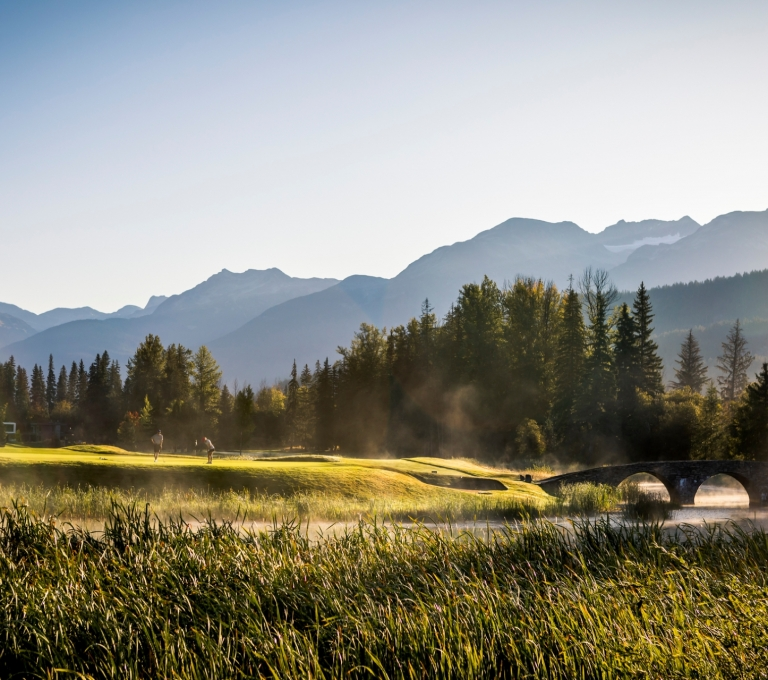 Nicklaus North Golf Course   Tourism Whistler/Justa Jeskova