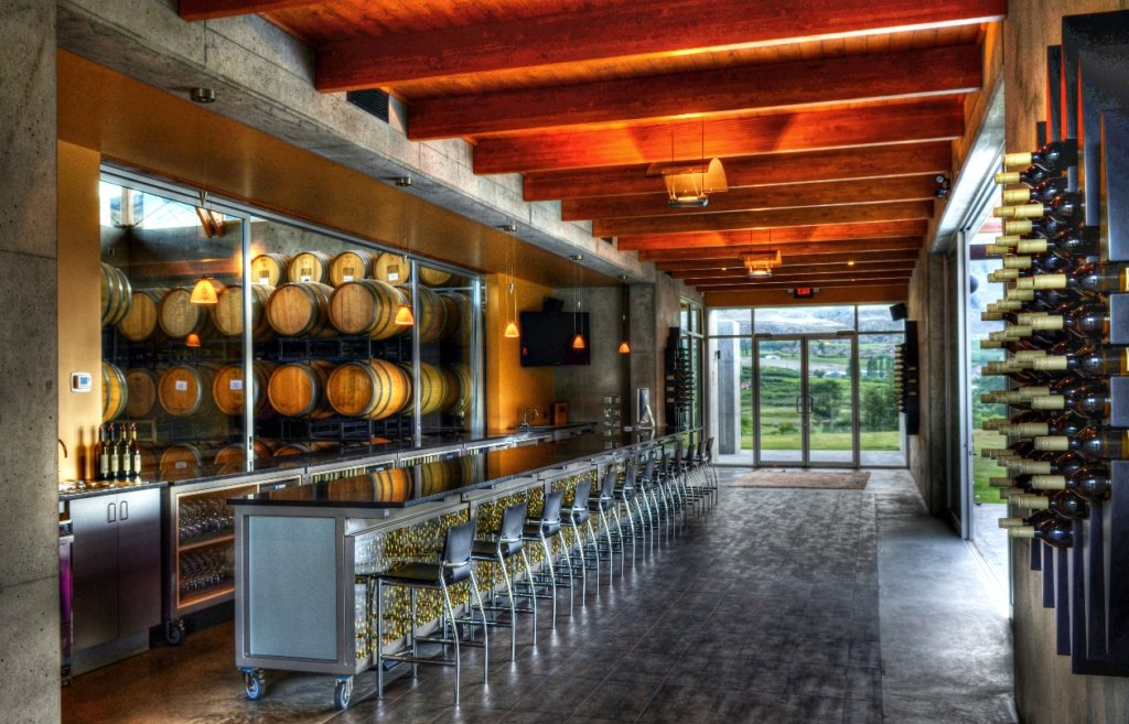 Award-winning winery Church & State Wines in Oliver.