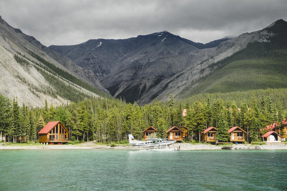 Northern Rockies Lodge in Muncho Lake Provincial Park on the Alaska Highway