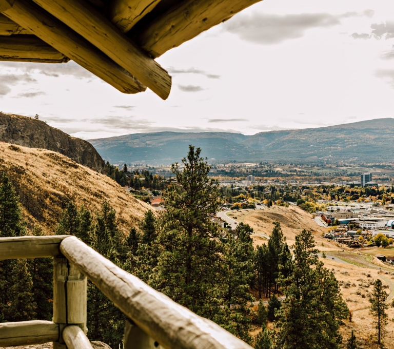 Knox Mountain Lookout overlooking Kelowna | Tanya Goehring