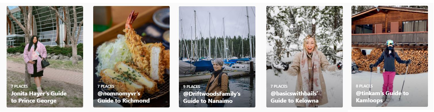 Stay Local Instagram Guides – Ideas from Locals / @hellobc