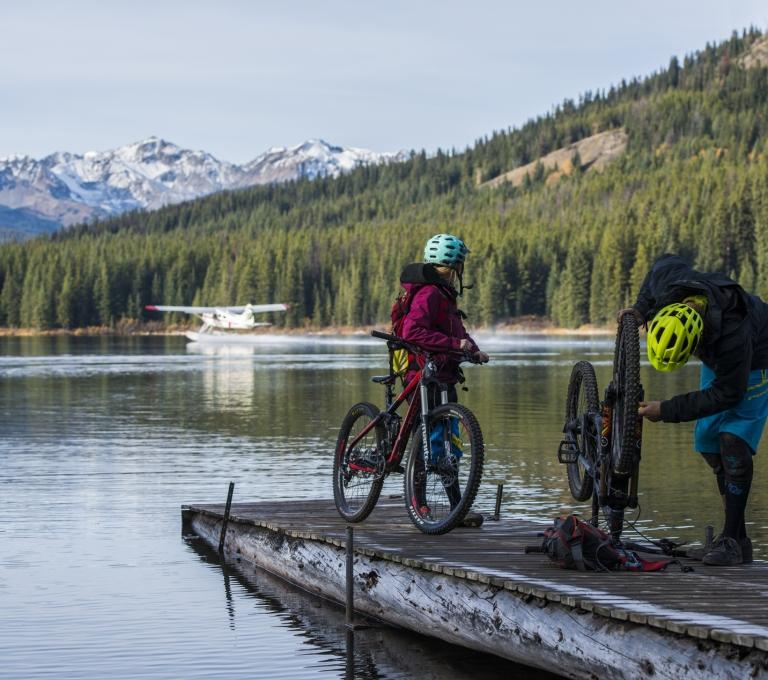 Mountain Biking at Spruce Lake | Bridge River Valley/Blake Jorgenson