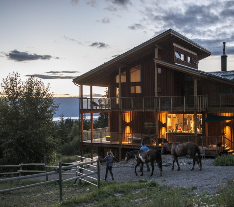 Myra Canyon Lodge