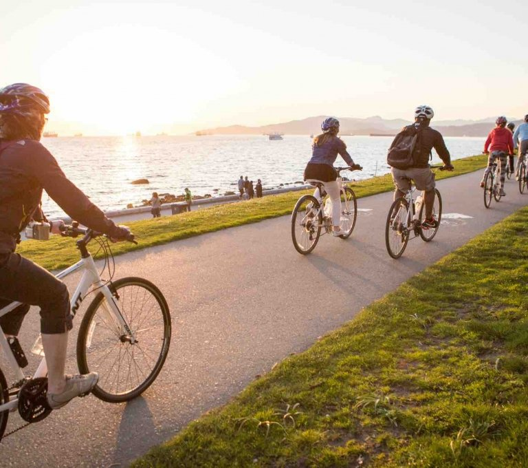Cycling the Seawall   Tourism Vancouver/Cycle City Tours