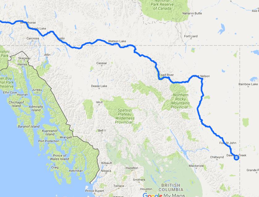 Alaska-hwy-map