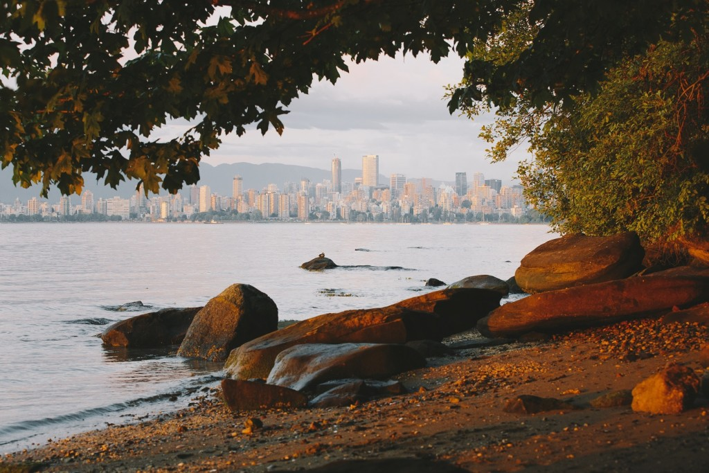 Kitsilano Beach in Vancouver.