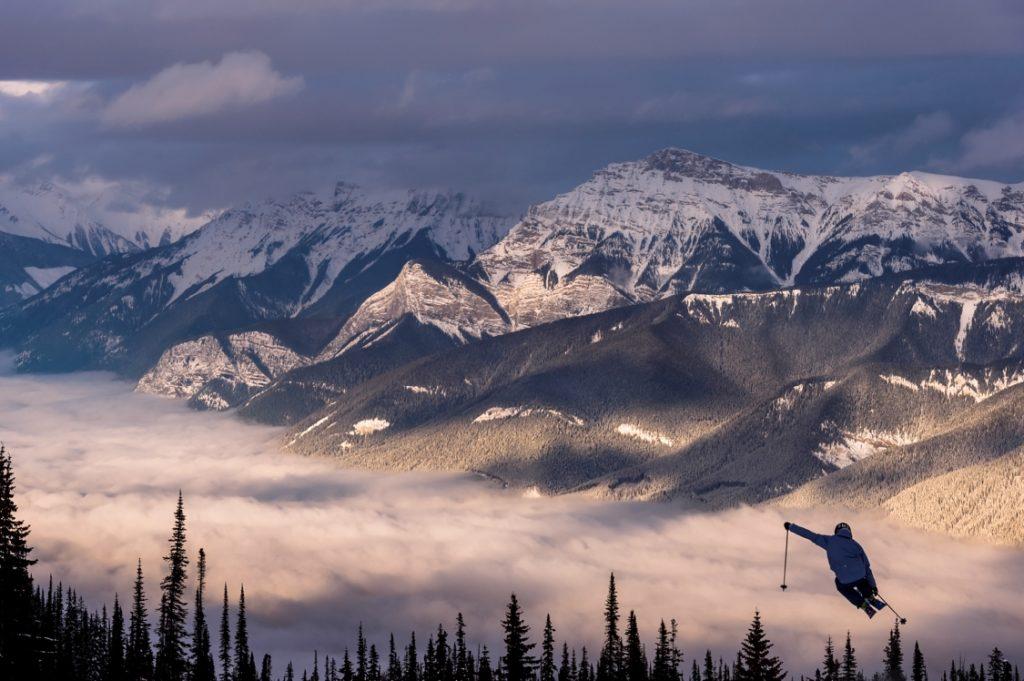 The stunning terrain around Kicking Horse Mountain Resort.