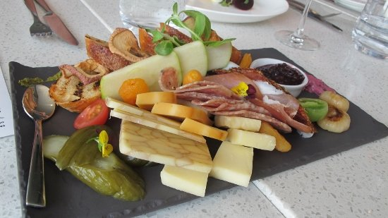 Charcuterie & cheese platter at Liquidity Bistro in Okanagan Falls. Photo: Rosalyne Buchanan