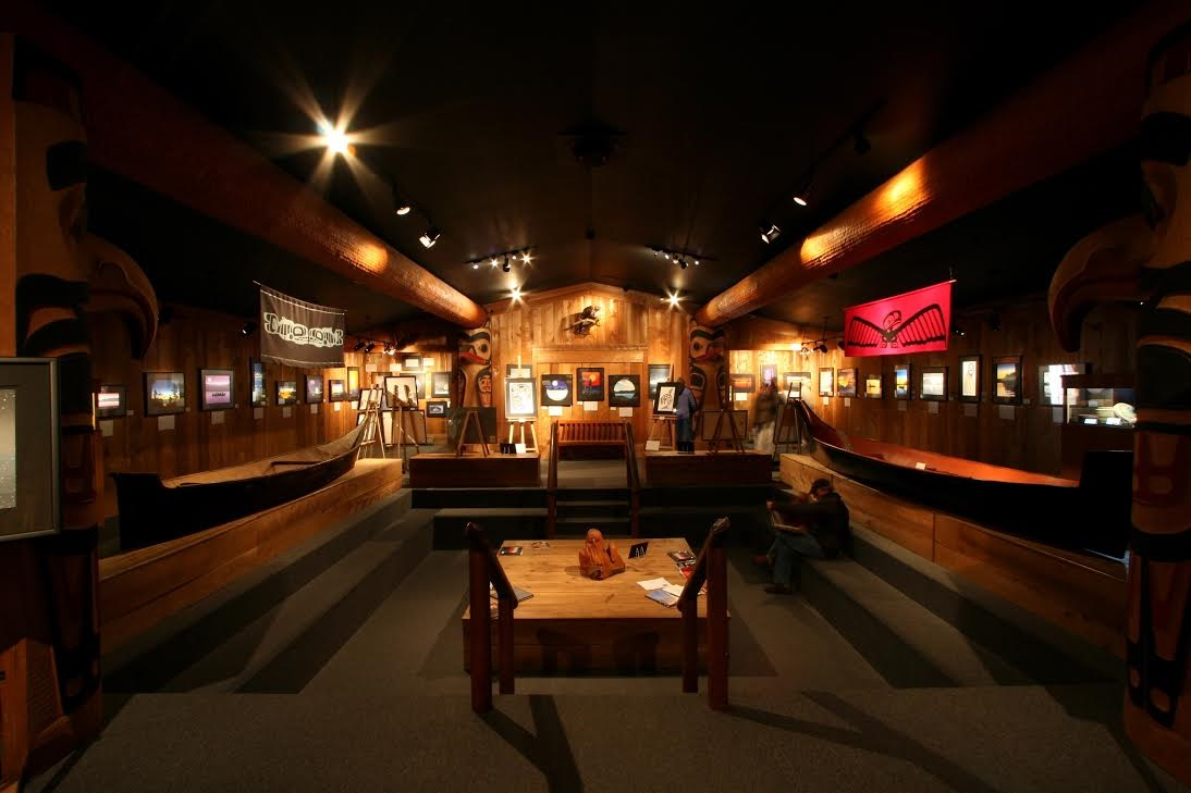 Eagle Aerie Gallery in Tofino, Vancouver Island