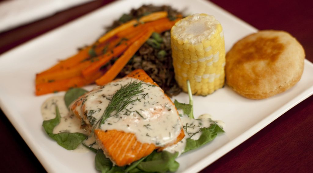Salmon n' Bannock is a highly praised Aboriginal restaurant in Vancouver.