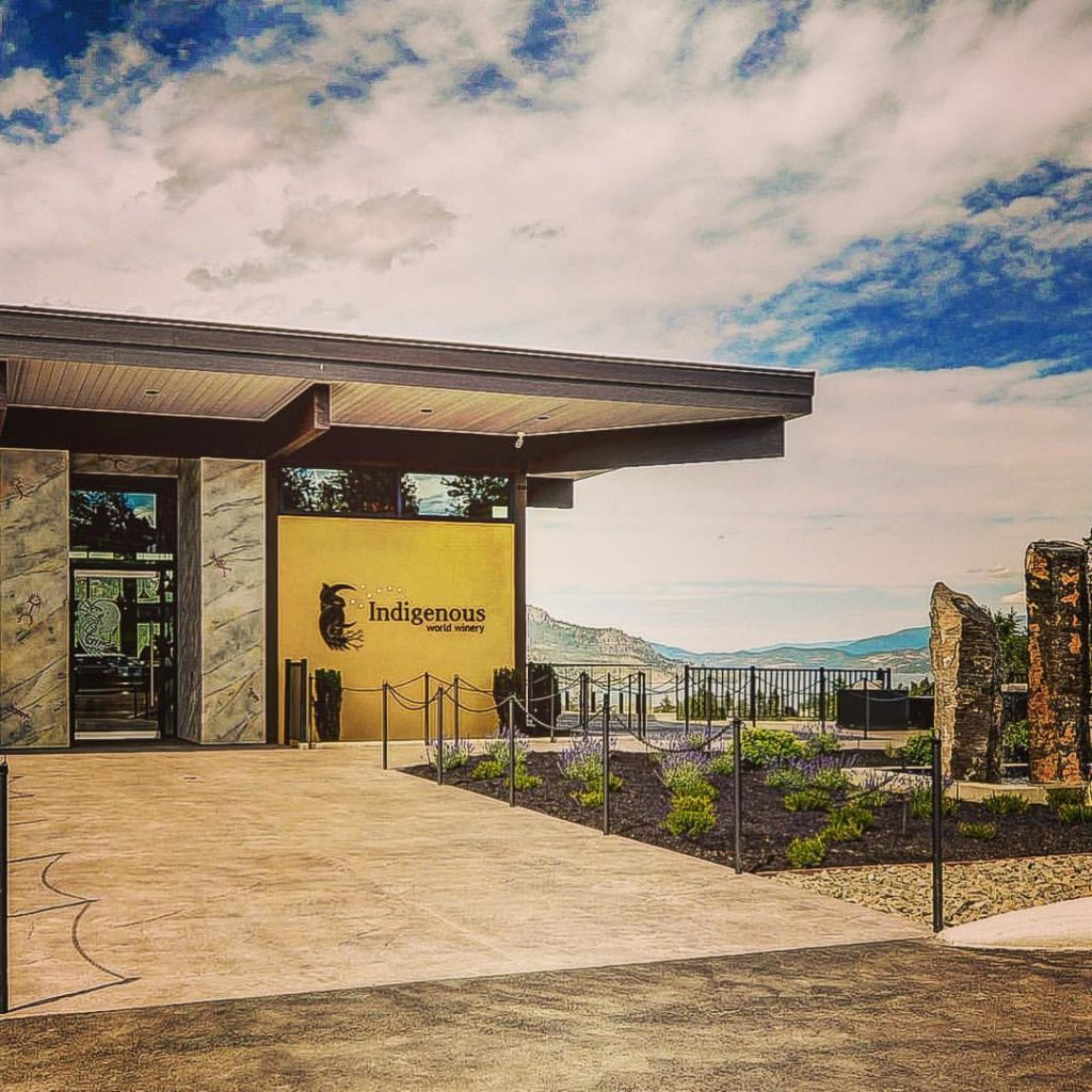 Indigenous World Winery is a First Nations-owned enterprise that includes a fine-dining restaurant.