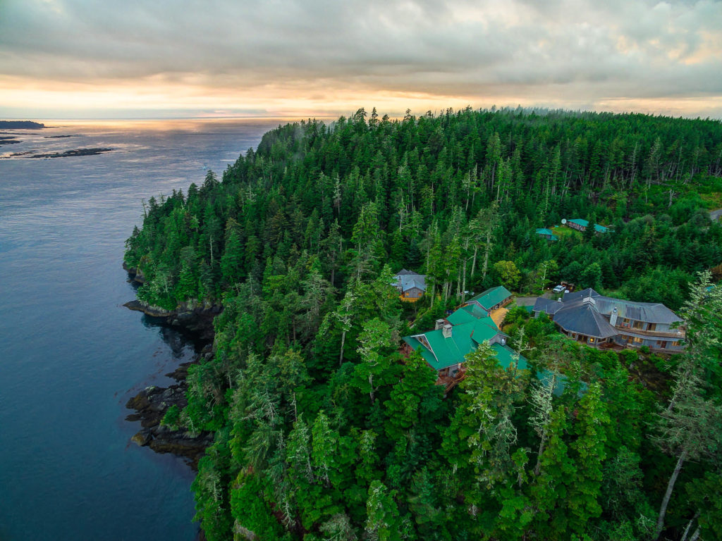 Langara Island Lodge for fishing at Langara Island, Haida Gwaii