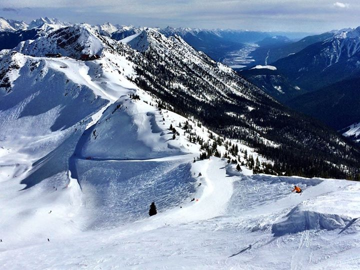 Skiing at Kicking Horse Mountain Resort in Golden. Photo: Drew Wittstock