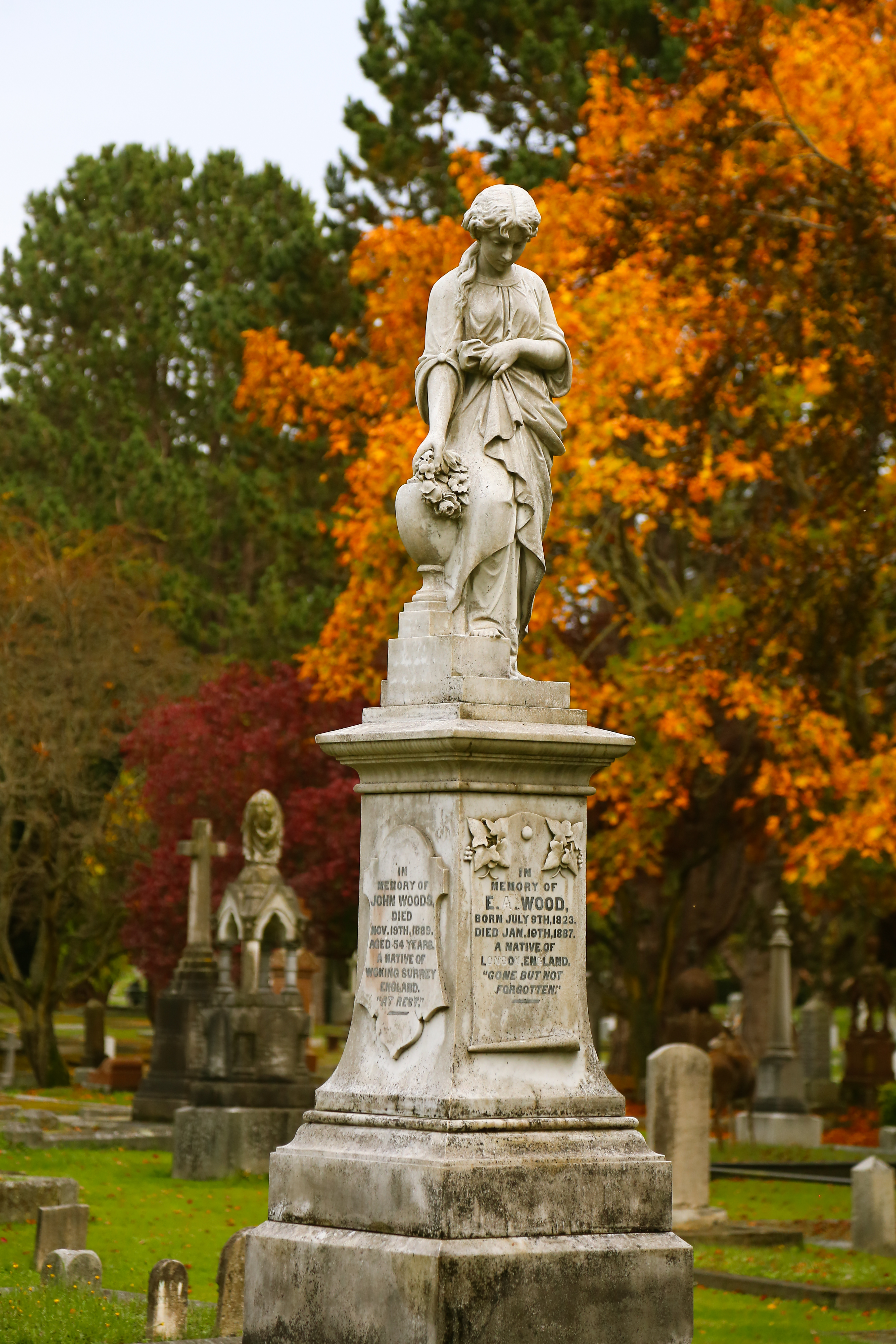 Ross Bay Cemetery, Victoria, BC