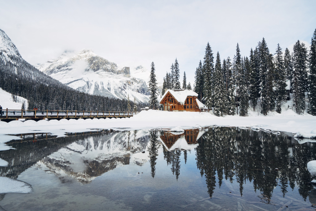 Emerald Lake Lodge in Yoho National Park. Photo: @lebackpacker via Instagram