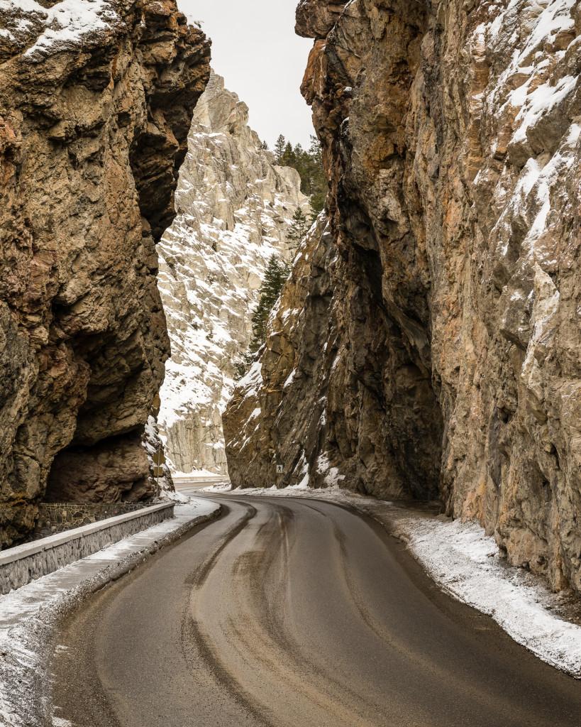 Sinclair Canyon in Kootenay National Park. Photo: @photojbartlett via Instagram