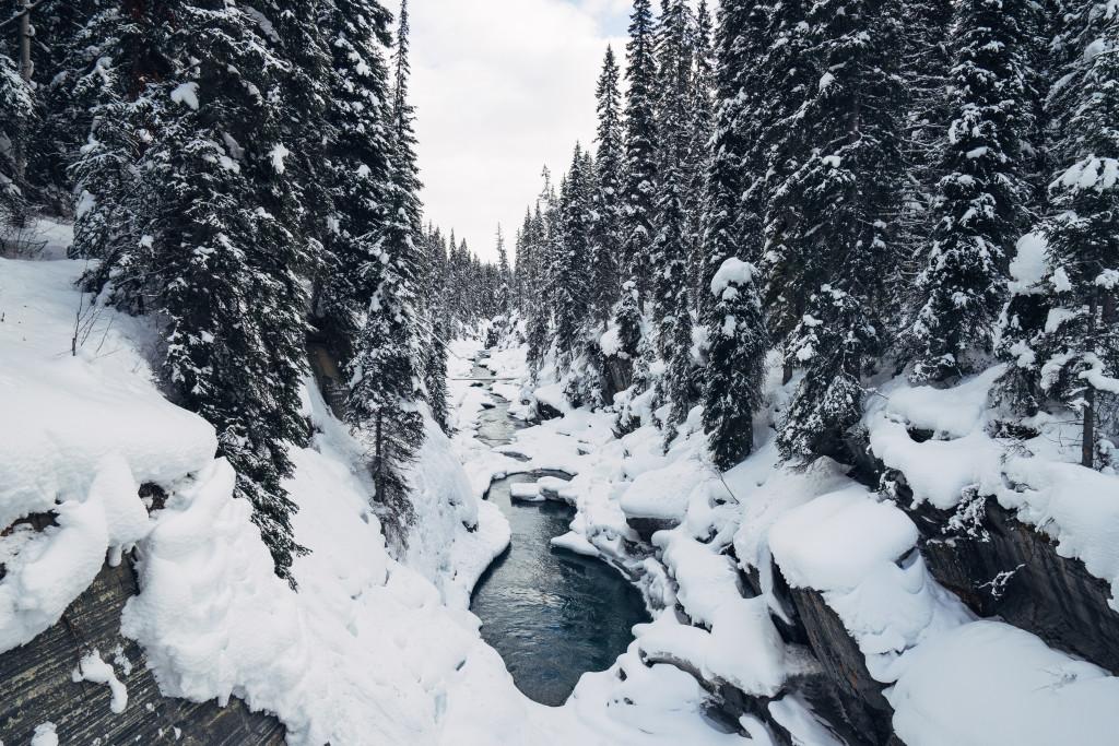 Marble Canyon in Kootenay National Park. Photo: @lebackpacker via Instagram