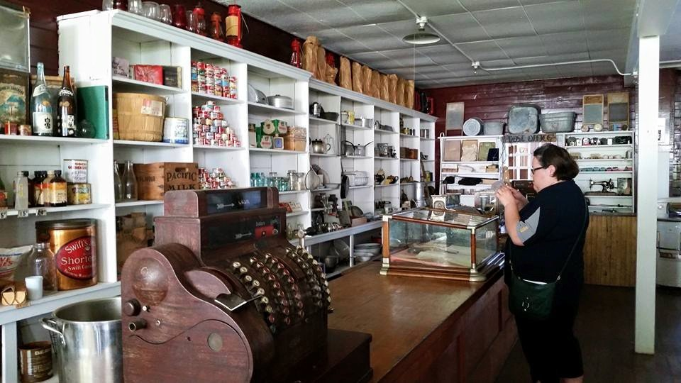 Exploring the General Store at the North Pacific Cannery in Prince Rupert. Photo: Amanda McKeen
