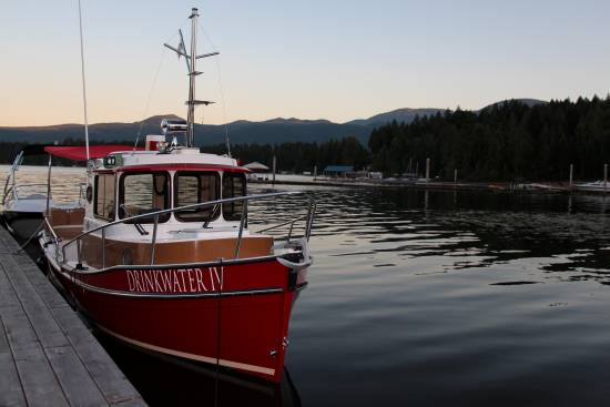The Drinkwater IV which tours people around Sproat Lake on Vancouver Island.