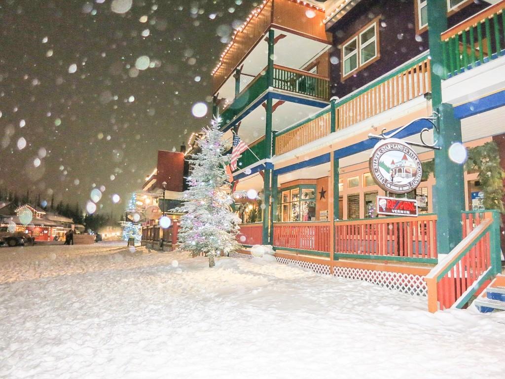 Silver Star Mountain Resort in the snow. Photo: @chaletski via Instagram