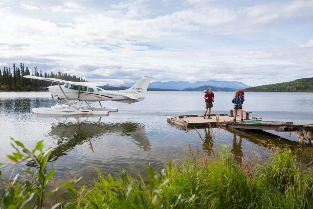 The floatplane ride from Tatogga Lake, near the Yukon border. Photo: Taylor Burk