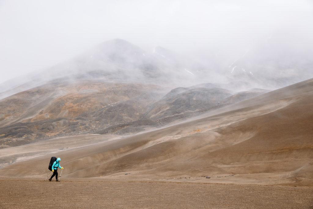 Mount Edziza Provincial Park's stark Northern BC landscape.