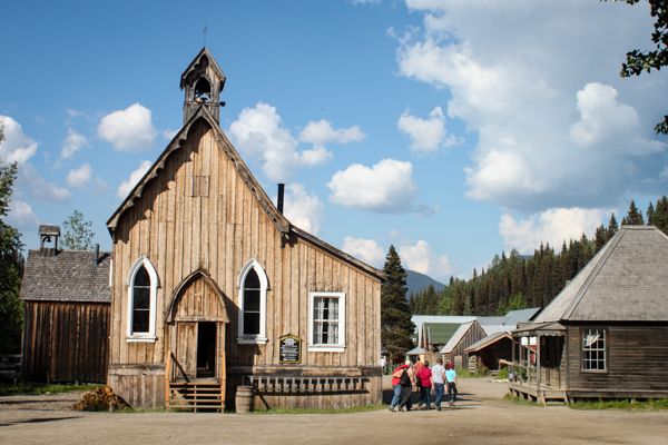 A church in Barkerville