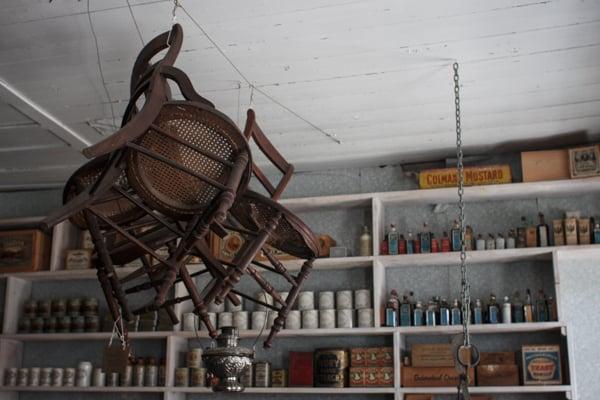 Interior of a Barkerville shop