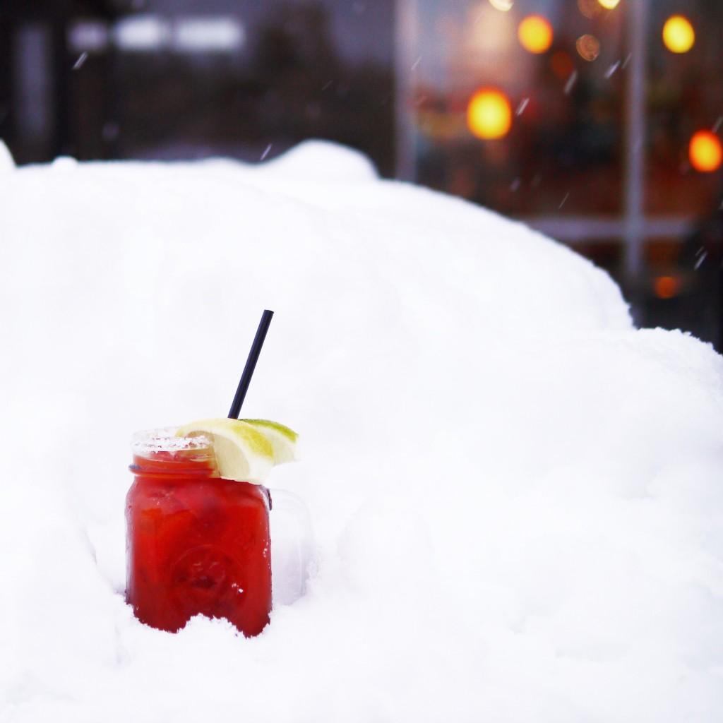 A Bloody Mary from Revelstoke apres-ski hotspot, Mackenzie Common Tavern. Photo: @erinireland