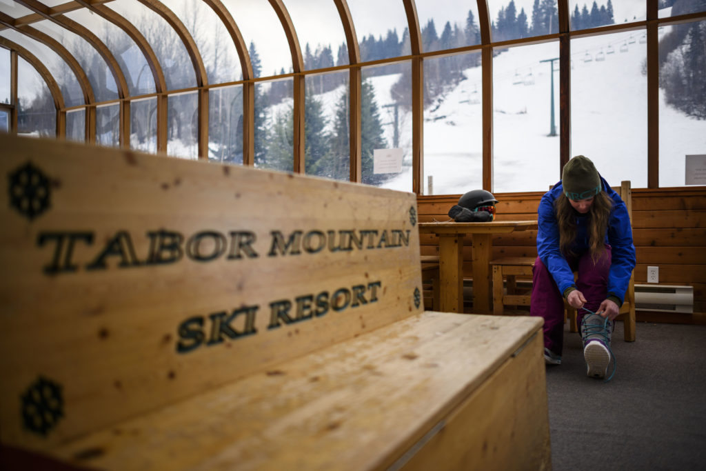 Tabor Mountain Ski Resort in Northern BC.