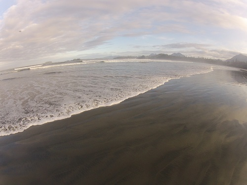Long Beach in Tofino, British Columbia.