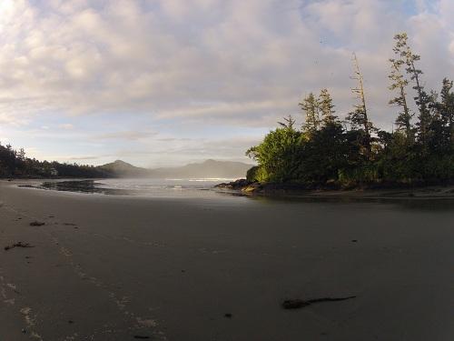 Long Beach in Tofino, British Columbia.