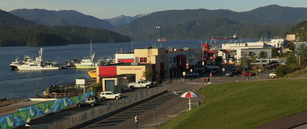 The docks in Prince Rupert, British Columbia