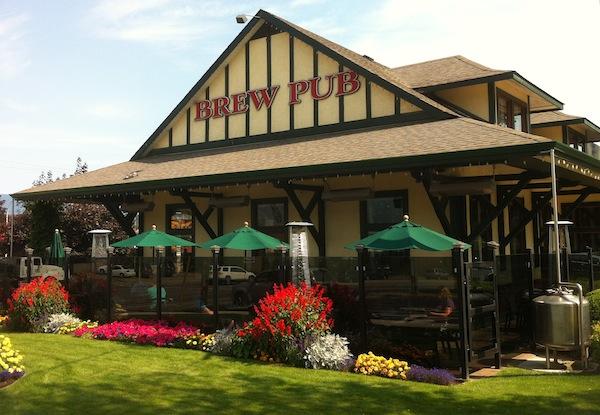The Barley Station brewpub in Salmon Arm, BC.